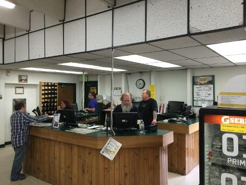 Boulder Sales Counter