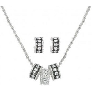 Montana Silversmiths® Crystal Shine Jewelry Set