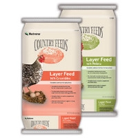 $2 Off Country Feeds Layer Crumbles