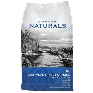 Diamond® Naturals Grain Free Beef Meal & Rice Adult Dog Food