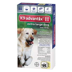 Bayer K9 Advantix II for Extra Large Dogs