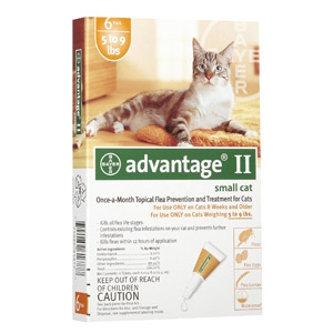 Bayer Advantage II for Small Cats