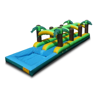 Tropical Double Lane Slip & Slide
