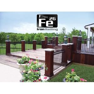 Fortress Fe26 Iron Railing