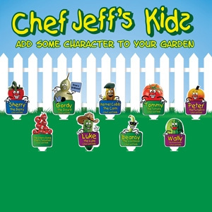 Chef Jeff Kids Club Vegetable Plants