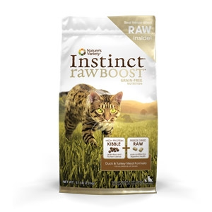 Instinct® Raw Boost Duck & Turkey Meal Formula for Cats