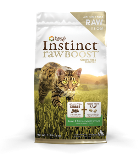 Instinct® Raw Boost Lamb & Salmon Meal Formula for Cats
