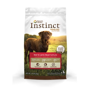 Instinct® Grain-Free Beef & Lamb Meal Formula for Dogs