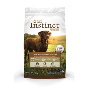 Instinct® Grain-Free Duck & Turkey Meal Formula for Dogs