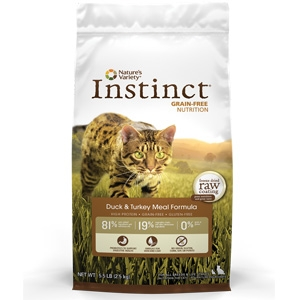 Instinct® Grain Free Duck & Turkey Meal Cat Formula