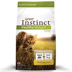 Instinct® Healthy Weight Chicken Meal Cat Formula