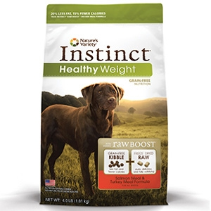 Instinct® Healthy Weight Salmon Meal & Turkey Meal Dog Formula