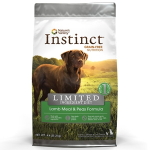 Instinct® Limited Ingredient Diet Lamb Meal & Peas Dog Formula
