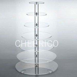 Cupcake Stand, Clear Acrylic