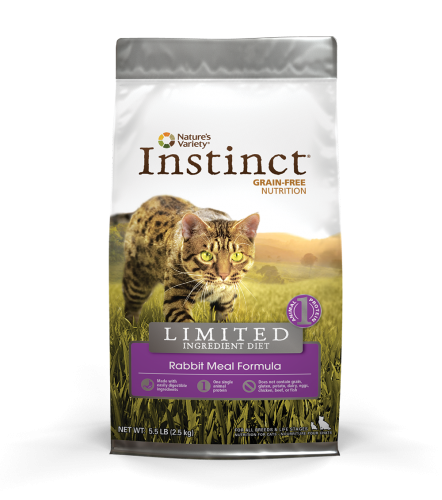 Instinct® Grain Free Limited Ingredient Rabbit Meal Formula for Cats