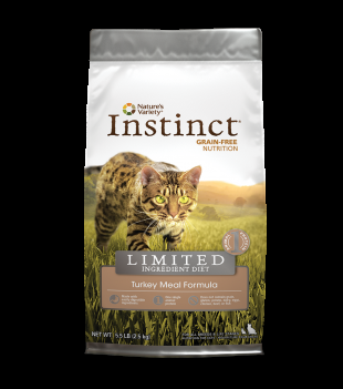 Instinct® Grain Free Limited Ingredient Turkey Meal Formula for Cats