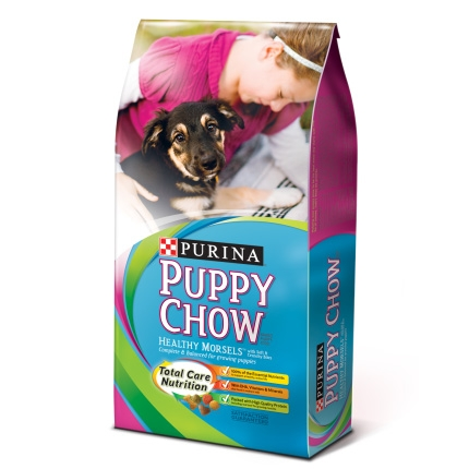 Purina® Puppy Chow® Puppy Food Healthy Morsels™ for Growing Puppies