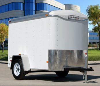 Haulmark 5' X 8' Enclosed Cargo Trailer
