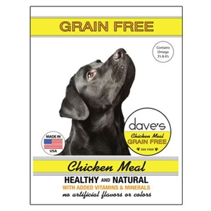 Dave's Pet Food Grain Free Chicken Meal Dog Food