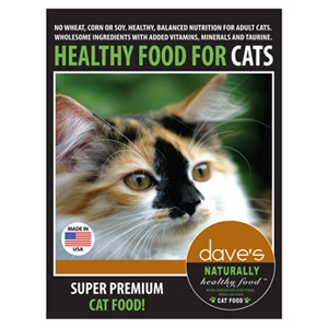 Dave's Pet Food Naturally Healthy Adult Cat Food