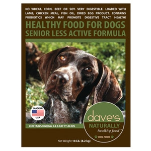 Dave's Pet Food Naturally Healthy Senior Dog Food