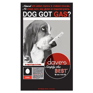 Dave's Pet Food Simply The Best Dog Food