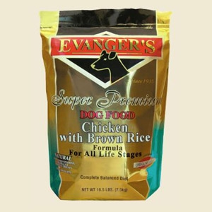 Evanger's Chicken with Brown Rice Dry Dog Food 16.5lb