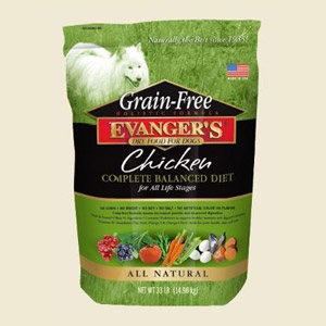 Evanger's Grain Free Chicken with Sweet Potato & Pumpkin 4.4lb