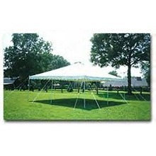 Party canopy: 20' x 20'