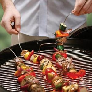 Fire Wire® Flexible Grilling Skewer