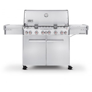 Weber® Summit® S-670™ Stainless Steel LP Grill