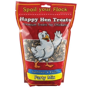 Happy Hen Party Treats - Sunflower & Raisin