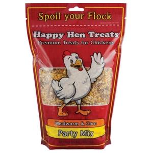 Happy Hen Party Treats - Mealworm & Corn