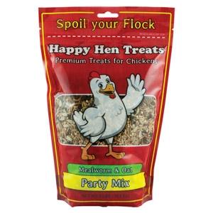Happy Hen Party Treats - Mealworm & Oat