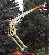 Cherry Picker/Boom Lift 35'