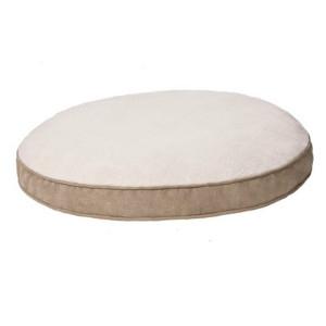 JLA Tan/Taupe Round Napper Orthopedic Pet Bed