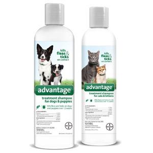 Advantage® Treatment Shampoos for Dogs & Cats
