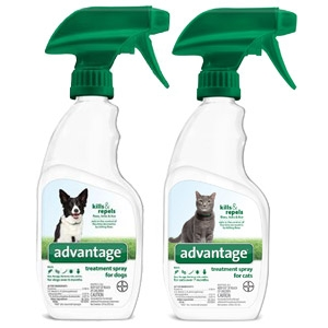 Advantage® Treatment Sprays for Dogs & Cats