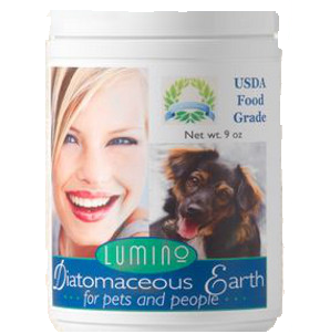Lumino Diatomaceous Earth Dog & Cat Flea Powder