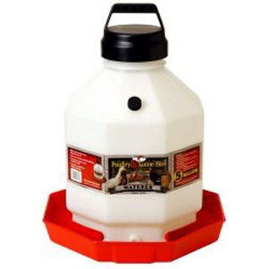 5 Gallon Automatic Poultry Waterer