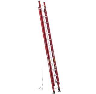 Werner Ladder, D6324-2, 24' Fiberglass Extension Ladder