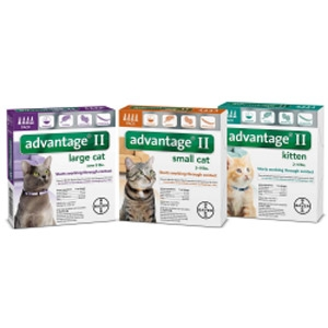 Bayer® Advantage® II for Cats