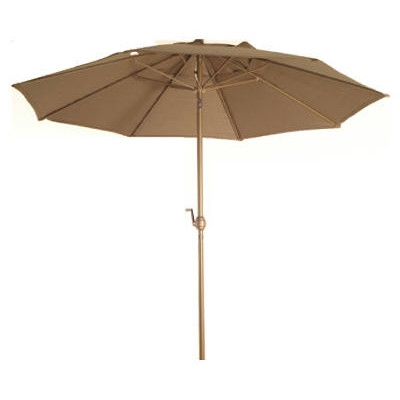 Courtyard Creations Woodfield Market Umbrella, 7.5'