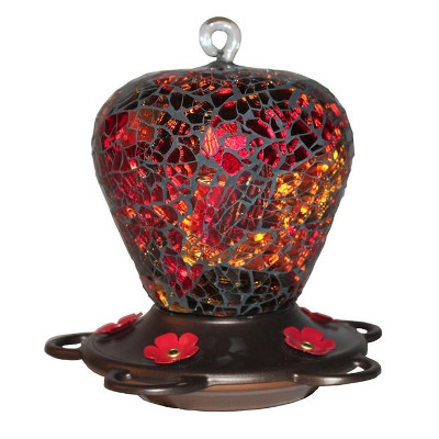 Classic Brands LLC. Glitz Glass Hummingbird Feeder