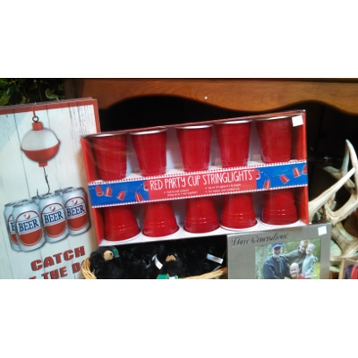 Party Cup String Lights : DEI Red Party Cup String Lights Bob s Garden Center