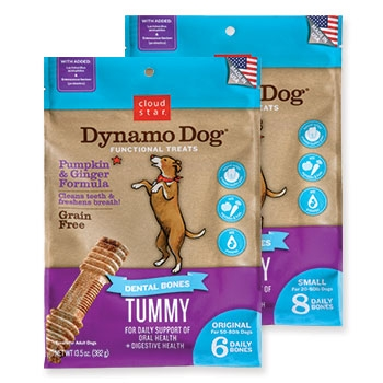 Dynamo Dog® Dental Bones: Tummy