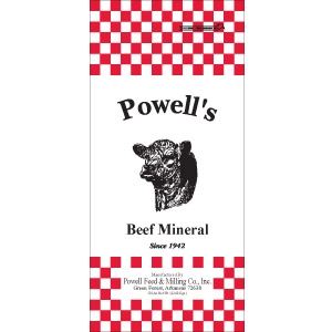 Powell's Cattle Mineral  CTC2800