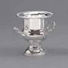 Silver table top wine cooler