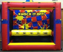 Knock it Off Inflatable Game