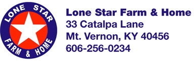 Lone Star Farm & Home Logo